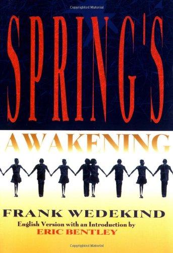 Spring's Awakening   1995 edition cover