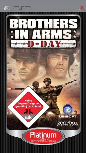 Brothers in Arms - D-Day [Platinum] Sony PSP artwork