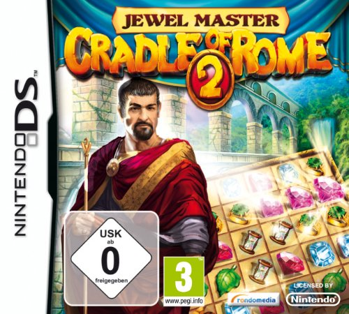CRADLE OF ROME 2 Nintendo DS artwork