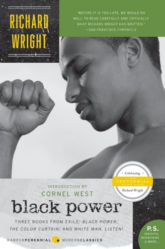 Black Power The Color Curtain - And White Man, Listen!  2008 edition cover