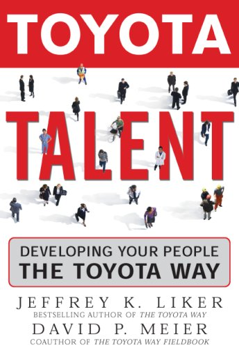 Toyota Talent Developing Your People the Toyota Way  2007 edition cover