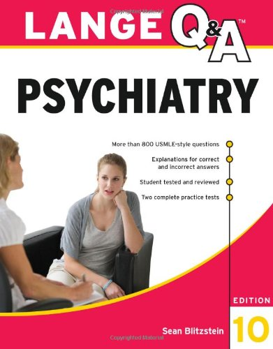 Psychiatry  10th 2011 edition cover