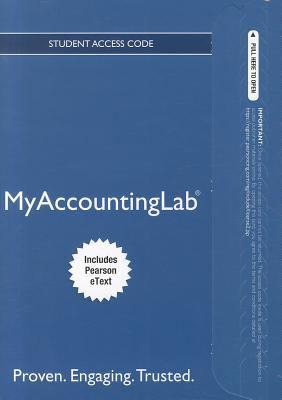 Myaccountinglab  14th 2012 edition cover