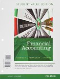 Financial Accounting, Student Value Edition Plus NEW MyAccountingLab with Pearson EText -- Access Card Package  10th 2015 edition cover