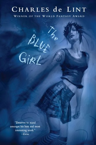Blue Girl  Reprint edition cover