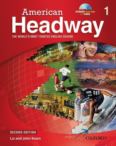 American Headway, Level 1  2nd (Student Manual, Study Guide, etc.) edition cover