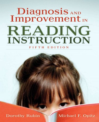 Diagnosis and Improvement in Reading Instruction  5th 2007 (Revised) edition cover