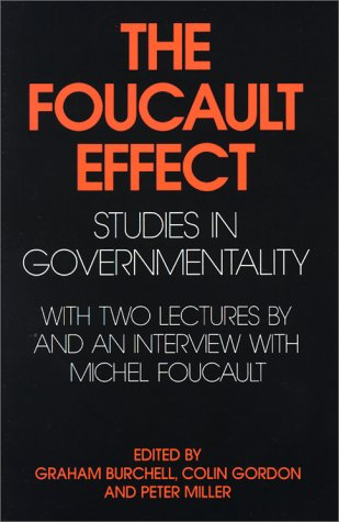 Foucault Effect Studies in Governmentality N/A edition cover