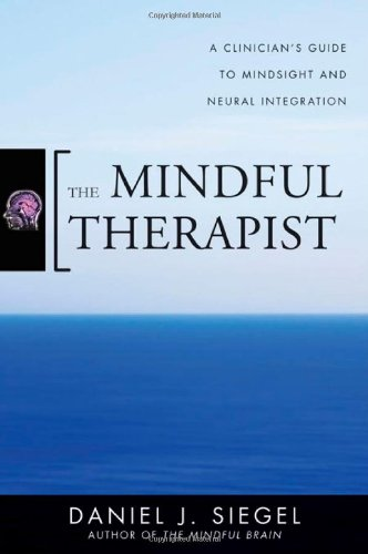 Mindful Therapist A Clinician's Guide to Mindsight and Neural Integration  2010 (Guide (Instructor's)) edition cover