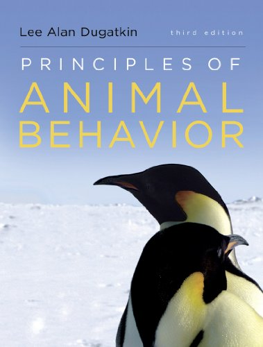 Principles of Animal Behavior  3rd 9780393920451 Front Cover