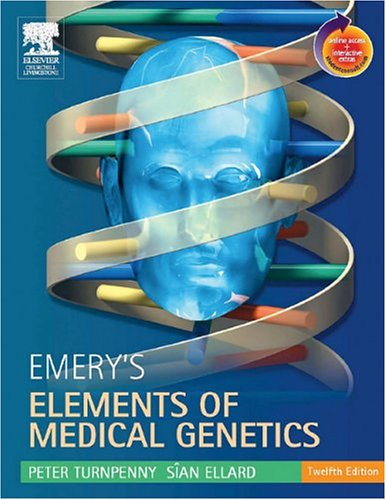 Emery's Elements of Medical Genetics  12th 2005 (Revised) 9780443100451 Front Cover