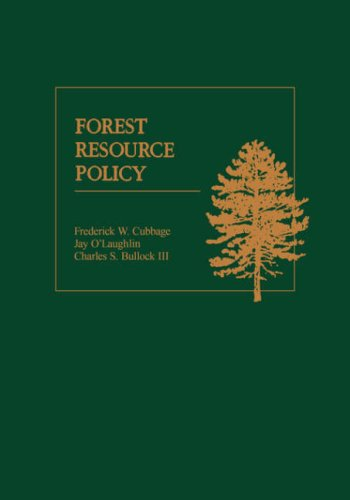 Forest Resource Policy   1993 edition cover