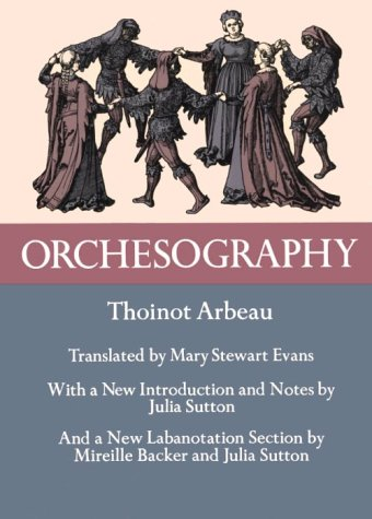 Orchesography 16th Century Dance N/A edition cover