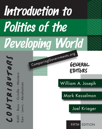 Introduction to Politics of the Developing World Political Challenges and Changing Agendas 5th 2010 edition cover