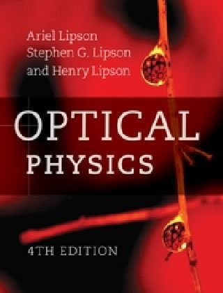 Optical Physics  4th 2011 (Revised) edition cover
