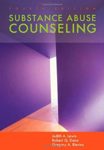 Substance Abuse Counseling  4th 2011 edition cover