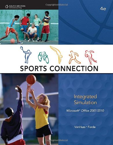 Sports Connection Integrated Simulation 4th 2011 9780538451451 Front Cover