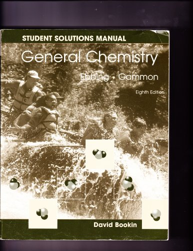 General Chemistry  8th 2005 (Student Manual, Study Guide, etc.) edition cover