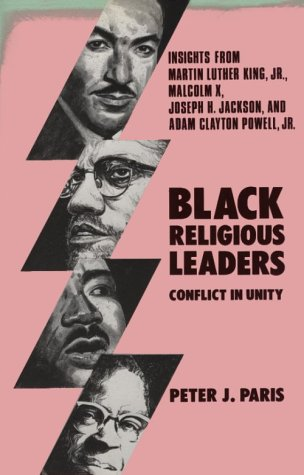 Black Religious Leaders Conflict in Unity - Insights from Martin Luther King, Jr. , Malcolm X, Joseph H. Jackson, and Adam Clayton Powell, Jr. 2nd edition cover
