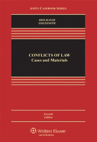 Conflicts of Law Cases and Materials 6th 2011 (Revised) edition cover