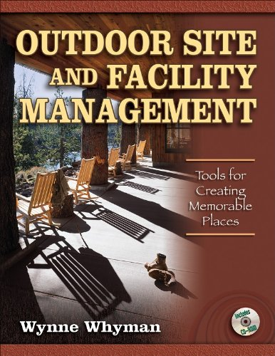 Outdoor Site and Facility Management Tools for Creating Memorable Places  2007 edition cover