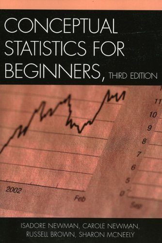 Conceptual Statistics for Beginners  3rd 2006 edition cover