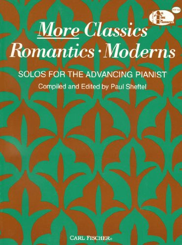 More Classics-Romantics-Moderns 1st 9780825803451 Front Cover