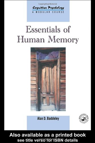 Essentials of Human Memory   1999 edition cover