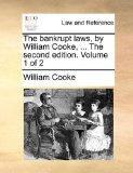 Bankrupt Laws, by William Cooke N/A edition cover