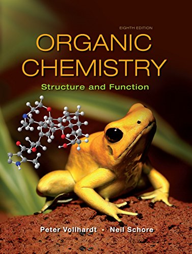 Organic Chemistry Structure and Function 8th 2018 9781319079451 Front Cover