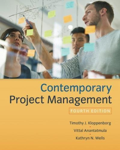 Contemporary Project Management:   2018 9781337406451 Front Cover