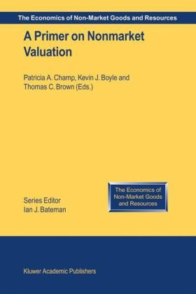 Primer on Nonmarket Valuation   2003 edition cover