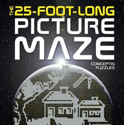 25-Foot-Long Picture Maze  N/A 9781402746451 Front Cover