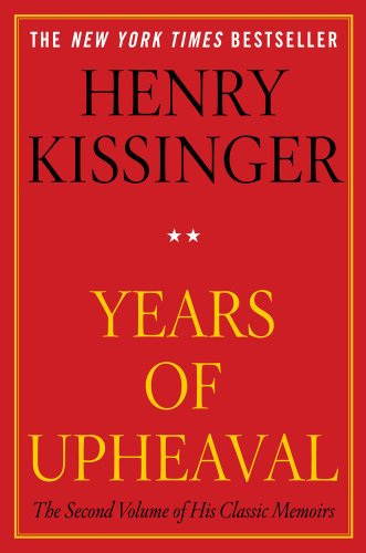 Years of Upheaval   2011 edition cover