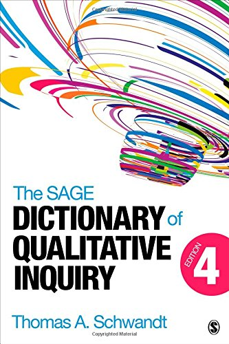 SAGE Dictionary of Qualitative Inquiry  4th 2015 edition cover