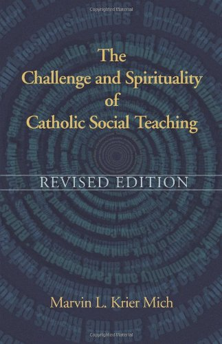 Challenge and Spirituality of Catholic Social Teaching Revised Edition  2011 edition cover