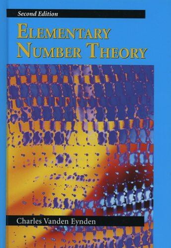 Elementary Number Theory  2nd 2001 edition cover