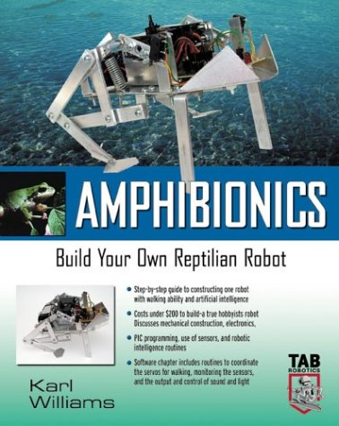 Amphibionics Build Your Own Reptilian Robot  2003 9780071412452 Front Cover