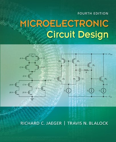 Microelectronic Circuit Design  4th 2011 edition cover
