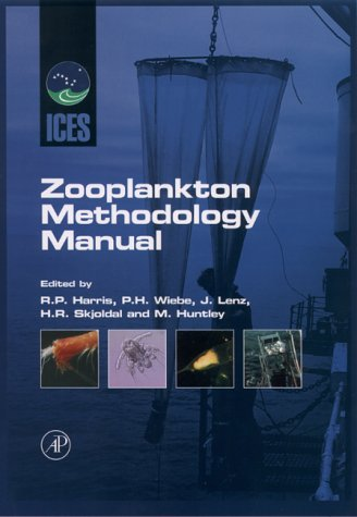 ICES Zooplankton Methodology Manual   2000 edition cover
