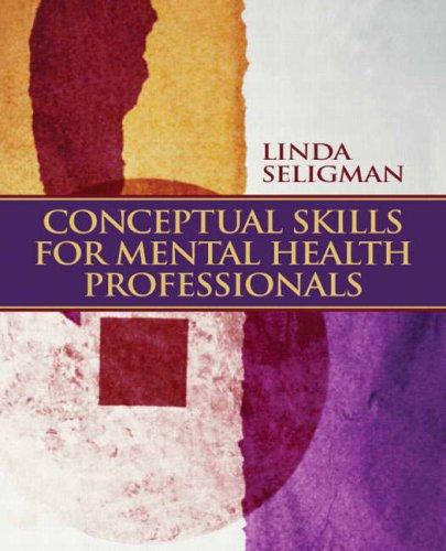 Conceptual Skills for Mental Health Professionals   2009 edition cover