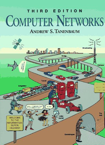 Computer Networks  3rd 1996 edition cover