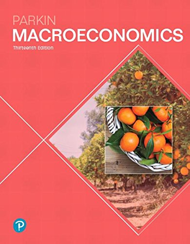 Macroeconomics  13th 2019 9780134744452 Front Cover