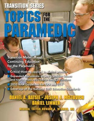 Topics for the Paramedic   2013 (Revised) edition cover