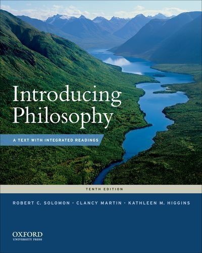 Introducing Philosophy: A Text With Integrated Readings  2015 9780190209452 Front Cover