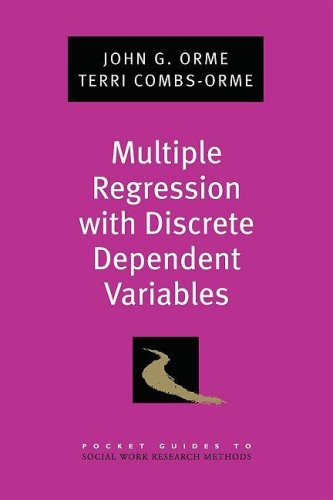 Multiple Regression with Discrete Dependent Variables   2009 edition cover