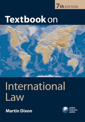 Textbook on International Law  7th 2010 edition cover