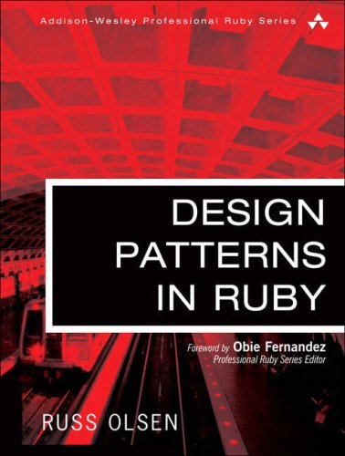 Design Patterns in Ruby   2008 edition cover