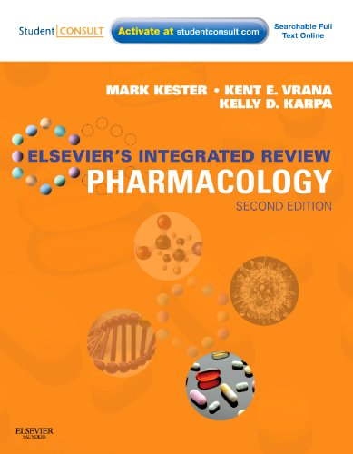 Elsevier's Integrated Review Pharmacology With STUDENT CONSULT Online Access 2nd 2011 edition cover