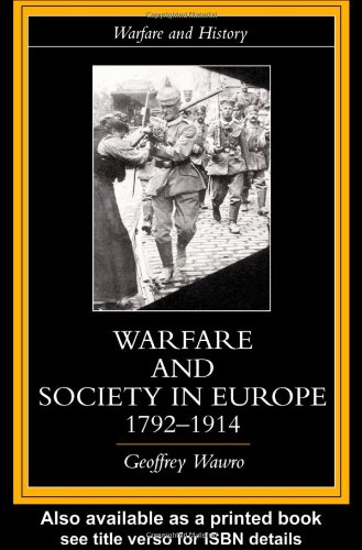 Warfare and Society in Europe, 1792-1914   1999 edition cover